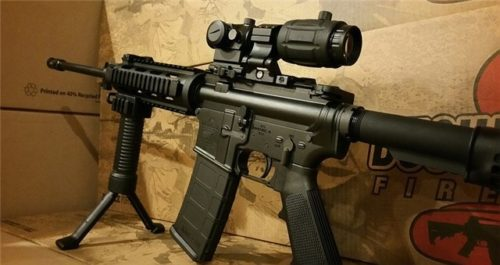 Buy Bushmaster AR15 Tactical Package Semi Auto Rifle cheap