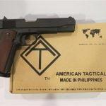 order American Tact 1911 handgun