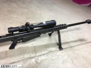 Buy Barrett M82A1 29″ .50BMG w/ Leupold Scope Online